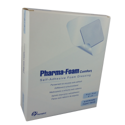 Pharma-Foam® Comfort 4'' x 4'' (10/pack)